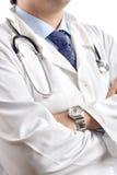 Retrato de un doctor del Hospital General imágenes de archivo libres de regalías