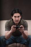 Retrato de un gamer Fotografía de archivo libre de regalías
