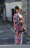 Retrato de un geisha Foto de archivo libre de regalías