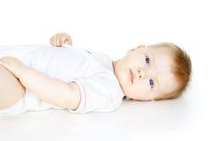 Retrato de un hermoso un niño foto de archivo