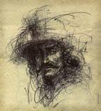 Retrato de un hombre libre illustration