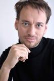 Retrato de un hombre adulto Imagen de archivo