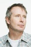 Retrato de un hombre adulto maduro Foto de archivo