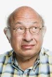 Retrato de un hombre adulto maduro Imagen de archivo libre de regalías