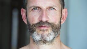 Retrato de un hombre con la barba Imagen de archivo libre de regalías