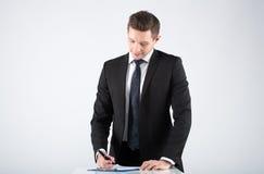 Retrato de un hombre de negocios imagen de archivo