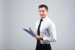 Retrato de un hombre de negocios Foto de archivo libre de regalías