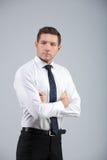 Retrato de un hombre de negocios Imagen de archivo libre de regalías