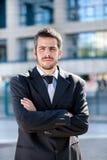 Retrato de un hombre de negocios adulto joven Imagenes de archivo