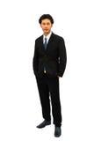 Retrato de un hombre de negocios confiado Foto de archivo libre de regalías