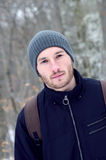 Retrato de un hombre joven Fotografía de archivo libre de regalías