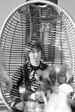 Retrato de un hombre joven fotografía de archivo