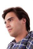 Retrato de un hombre joven hermoso Fotos de archivo libres de regalías