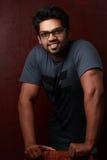 Retrato de un hombre joven indio Imagen de archivo libre de regalías