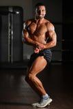 Retrato de un hombre joven muscular físicamente cabido Fotografía de archivo