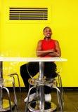 Retrato de un hombre negro joven magnífico Fotografía de archivo