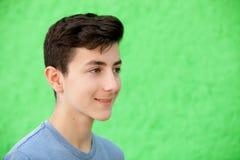 Retrato de un hombre rebelde del adolescente Fotografía de archivo