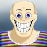 Retrato de un hombre sonriente Foto de archivo libre de regalías