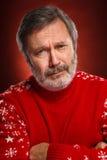 Retrato de un hombre triste Fotografía de archivo libre de regalías