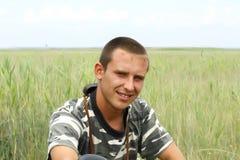 Retrato de un militar ucraniano joven Fotos de archivo libres de regalías