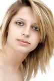 Retrato de un modelo femenino hermoso Imagen de archivo libre de regalías