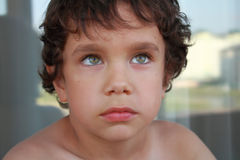 Retrato de un muchacho Foto de archivo libre de regalías