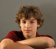 Retrato de un muchacho fotos de archivo