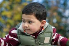 Retrato de un muchacho Imagen de archivo libre de regalías