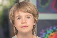 Retrato de un muchacho Fotos de archivo libres de regalías