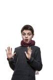 Retrato de un muchacho adolescente Fotografía de archivo libre de regalías