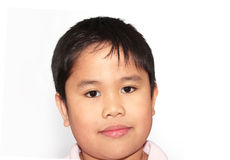 Retrato de un muchacho adorable Fotos de archivo