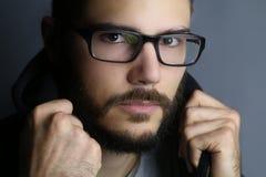 Retrato de un muchacho de la moda Imágenes de archivo libres de regalías