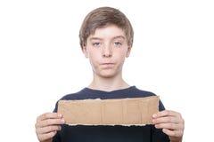 Retrato de un muchacho del adolescente Imagenes de archivo