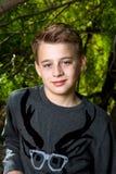 Retrato de un muchacho del tween Foto de archivo libre de regalías