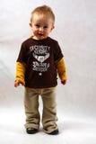 Retrato de un muchacho en el estudio Foto de archivo