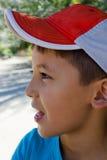 Retrato de un muchacho en perfil Fotografía de archivo