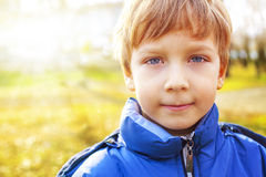 Retrato de un muchacho hermoso Imágenes de archivo libres de regalías