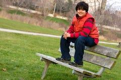 Retrato de un muchacho indio Fotografía de archivo