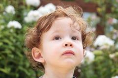 Retrato de un muchacho joven Imagen de archivo libre de regalías