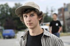 Retrato de un muchacho joven Fotos de archivo