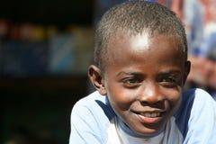 Retrato de un muchacho malgache Imágenes de archivo libres de regalías