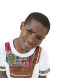 Retrato de un muchacho precioso, diez años Imágenes de archivo libres de regalías