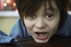 Retrato de un niño Fotos de archivo libres de regalías