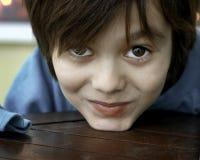 Retrato de un niño Imagen de archivo libre de regalías