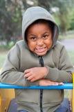 Retrato de un niño del color Foto de archivo