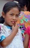 Retrato de un niño maya Imagen de archivo