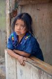 Retrato de un niño maya Foto de archivo