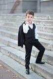 Retrato de un niño pequeño imagen de archivo