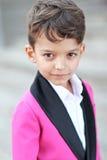 Retrato de un niño pequeño foto de archivo