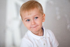 Retrato de un niño pequeño Fotografía de archivo libre de regalías